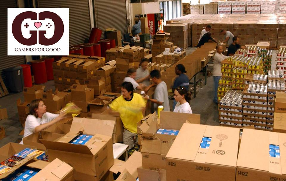 Sort Food With The La Regional Food Bank Mar 2015gamers For Good
