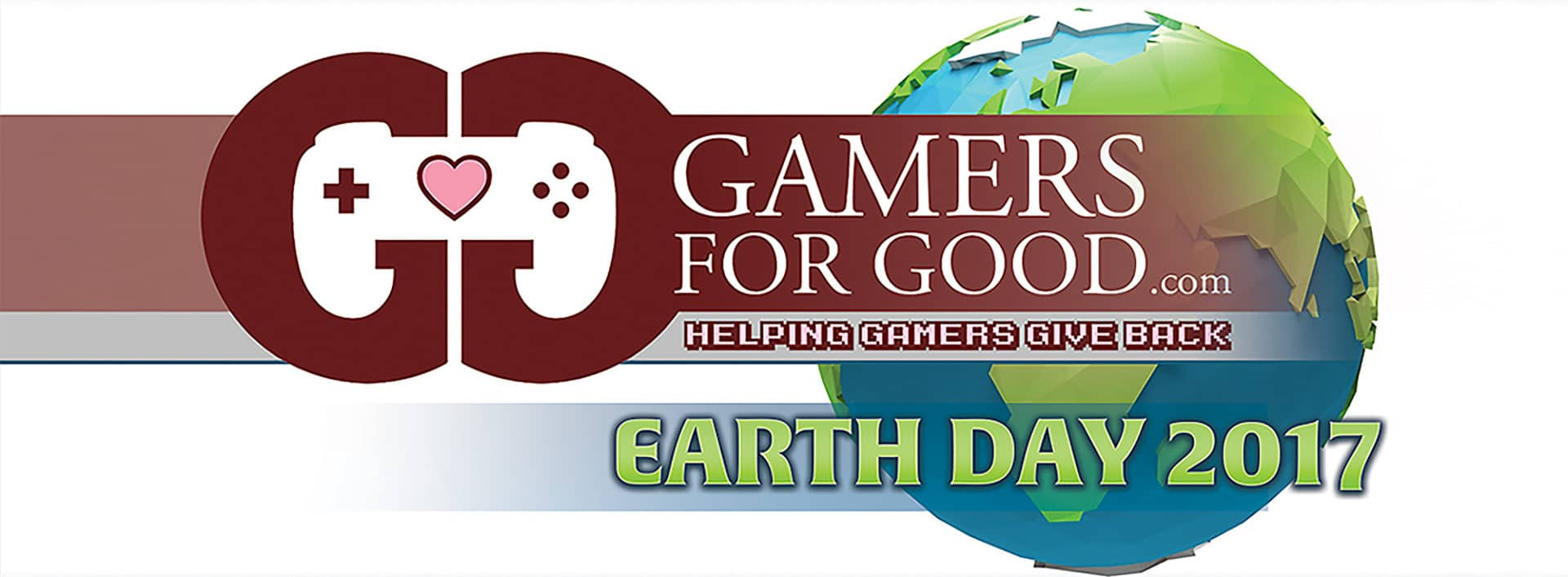 Gamer for Good encourages participation this Earth Day 2017