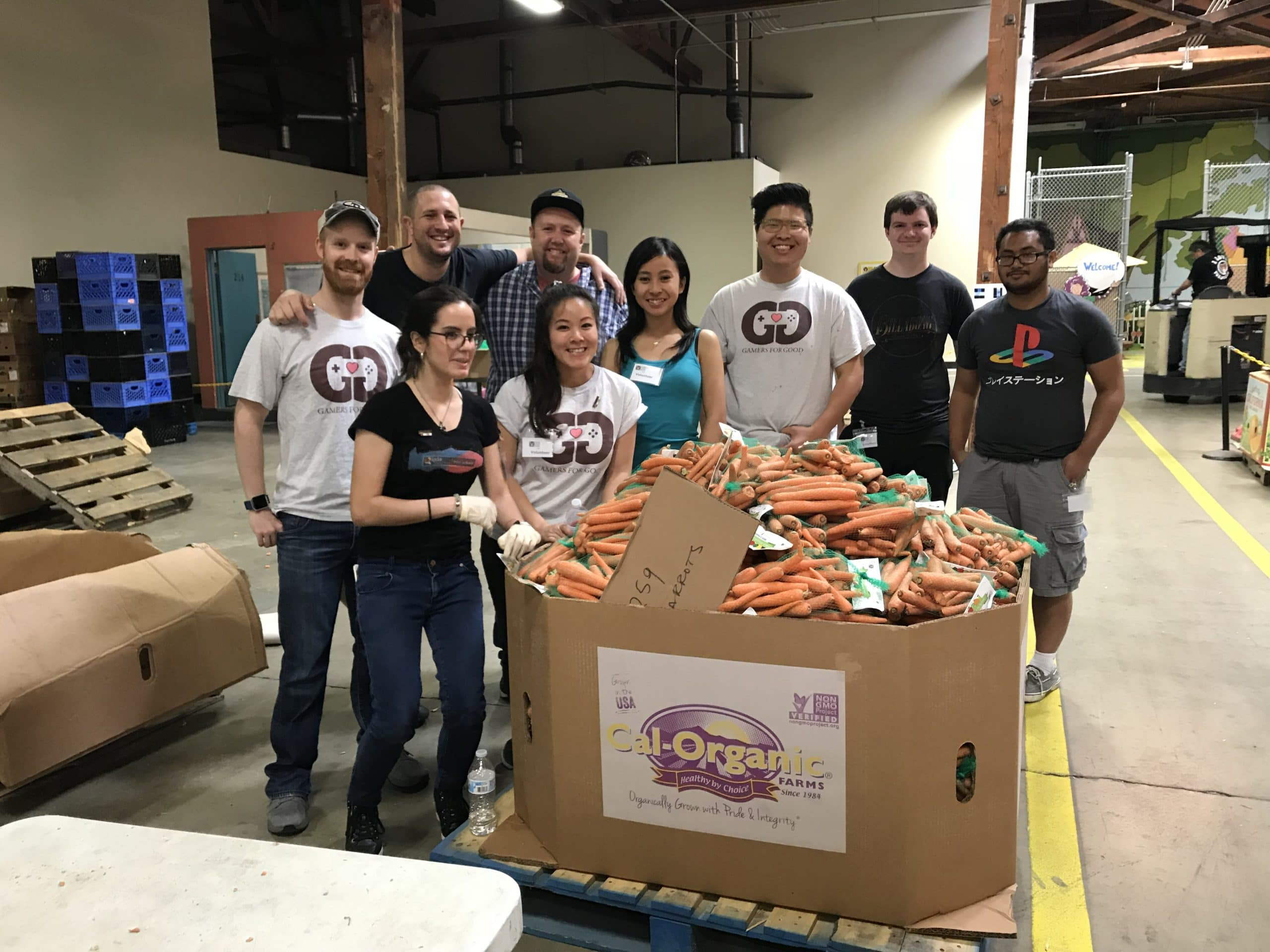 G4G volunteers @ OC 2nd Harvest Food Bank May 2018