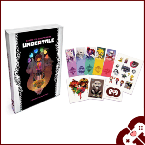 Gamers for Good presents Undertale Artbook & Goodies