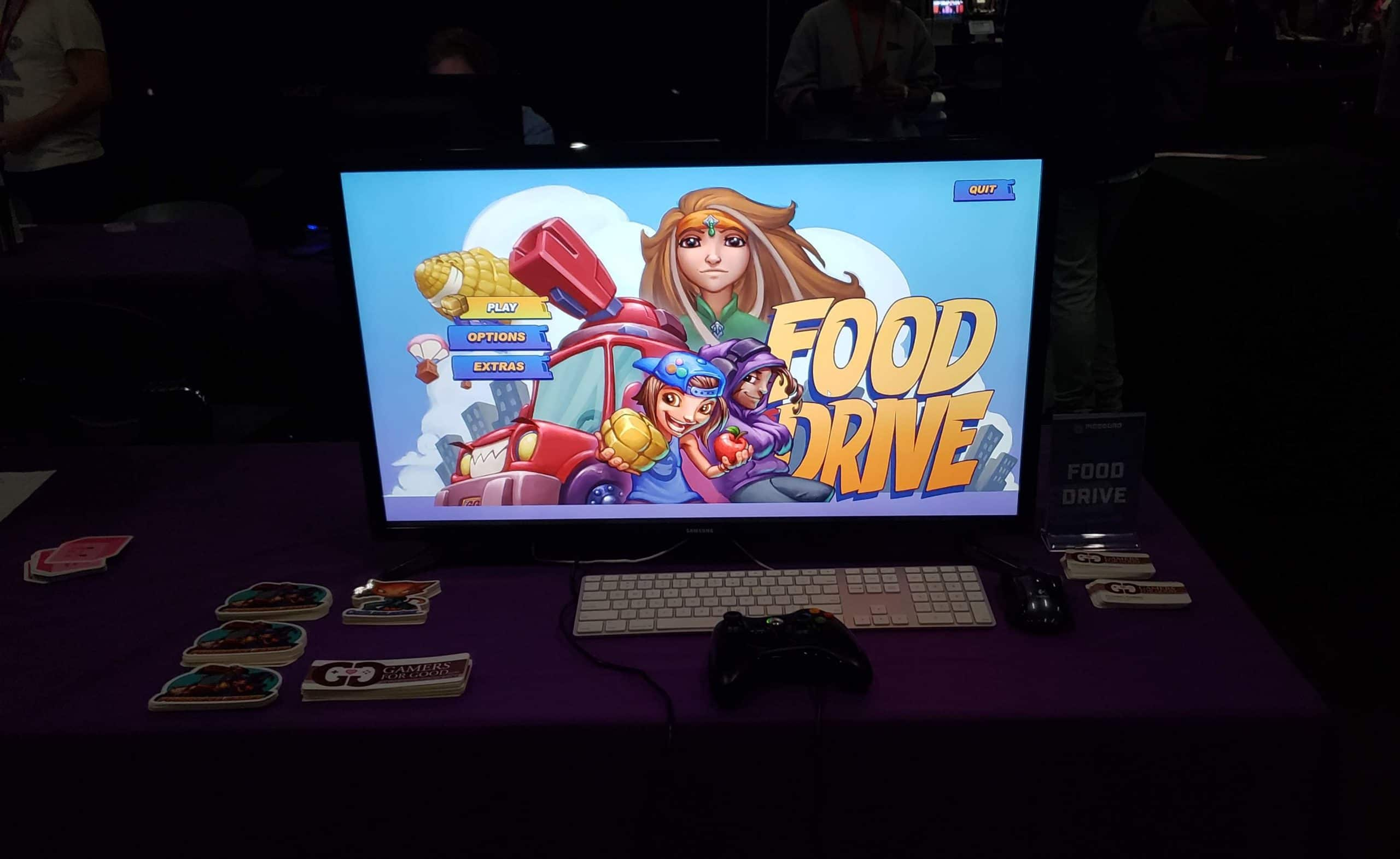 Gamers for Good show Food Drive at the Portland Retro Gaming Expo October 2018