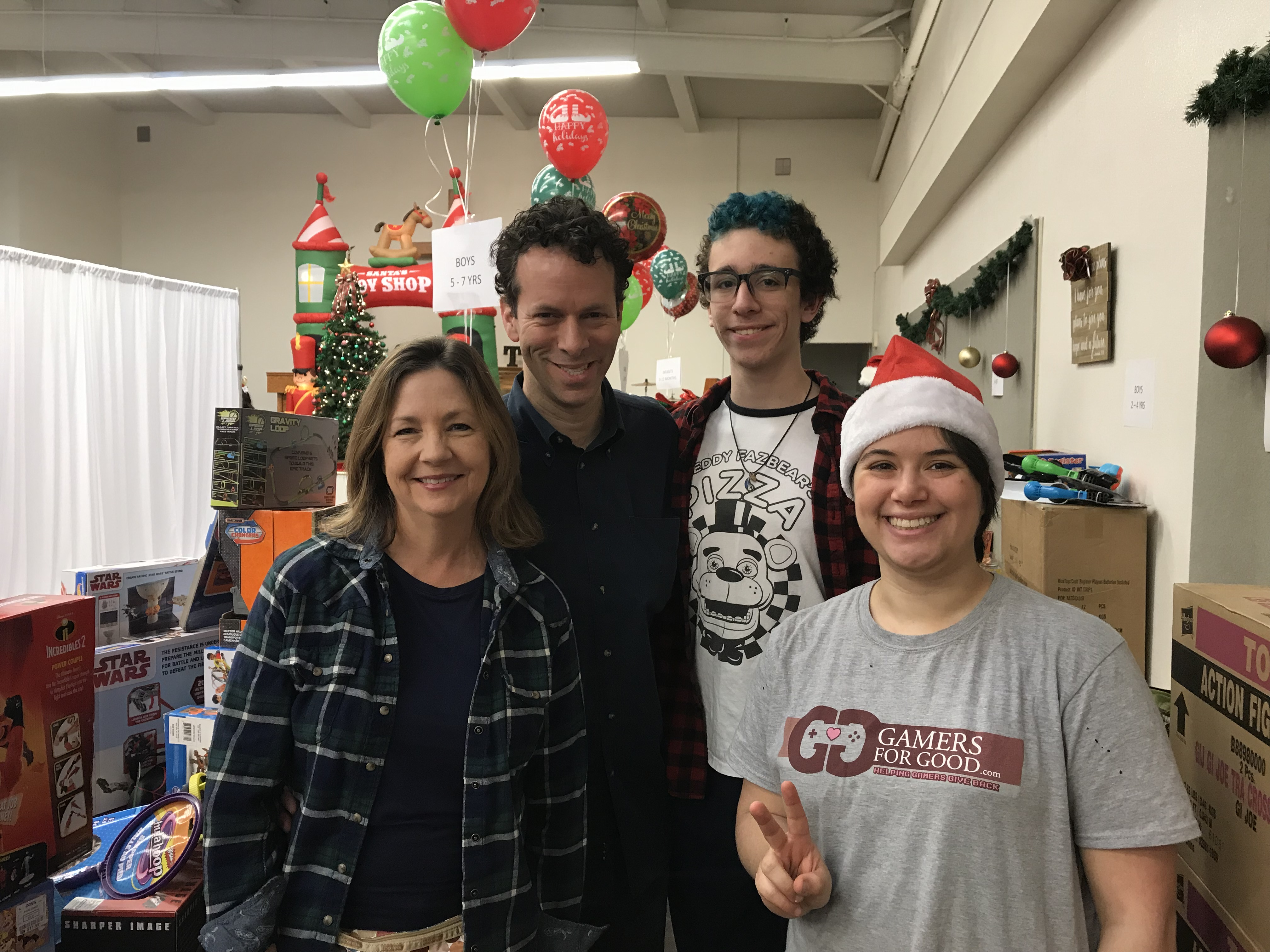 South Central LA families were aided by gamers across SoCal this holiday season
